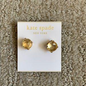 Kate Spade stud earrings.